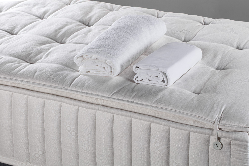 Mattress cover and complete set of sheets (high-thickness) included in the mattress price